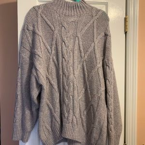 NWOT! Express Cableknit Sweater